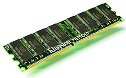 Kingston 1GB 400MHz DDR CL3 KVR400X64C3A-1G