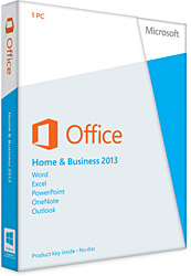 Microsoft Office 2013 Home and Business T5D-01599