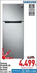 Samsung RT46K600JS8 A+ Çift Kapılı No Frost Buzdolabı