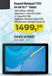 "Huawei MatePad T10S 64 GB 10.1"" Tablet"