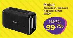 Mojue WS04 Taşınabilir Kablosuz Hoparlör
