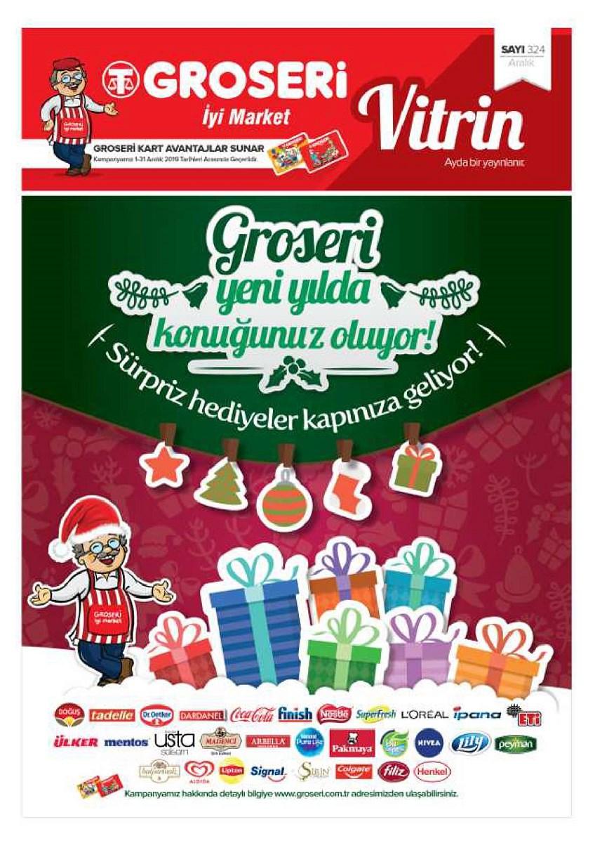 1 - 31 Aralık  Groseri Market Aktüel Vitrin Aralık 2019 - 0
