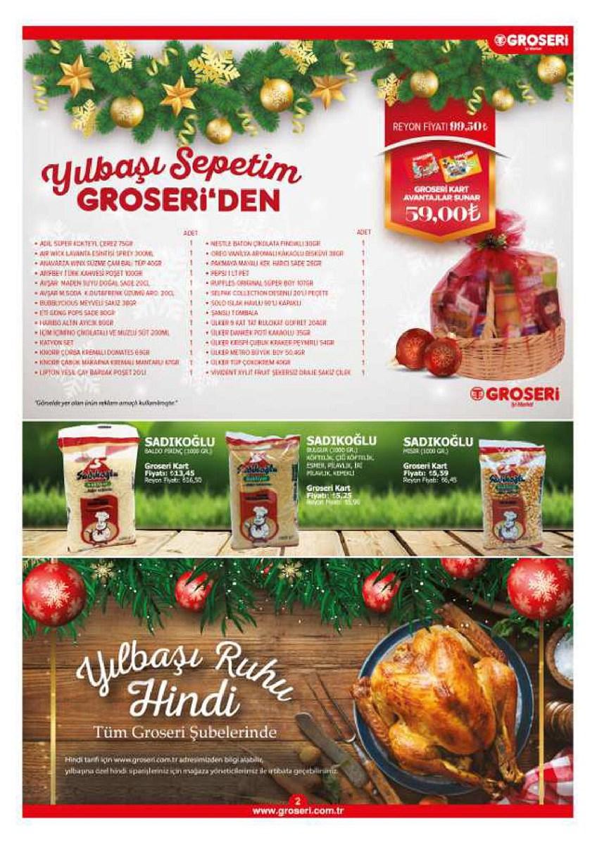 1 - 31 Aralık  Groseri Market Aktüel Vitrin Aralık 2019 - 1