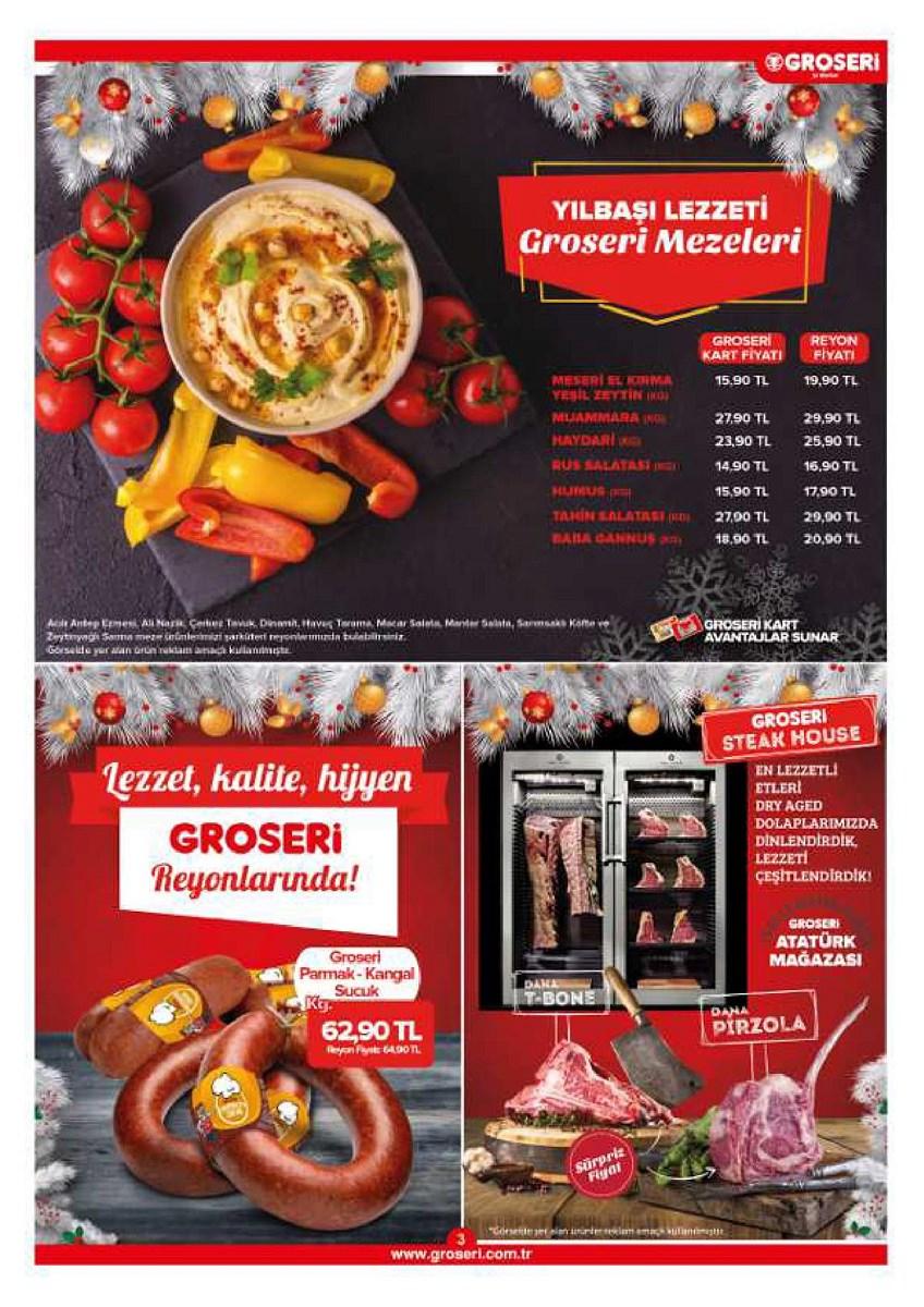 1 - 31 Aralık  Groseri Market Aktüel Vitrin Aralık 2019 - 2