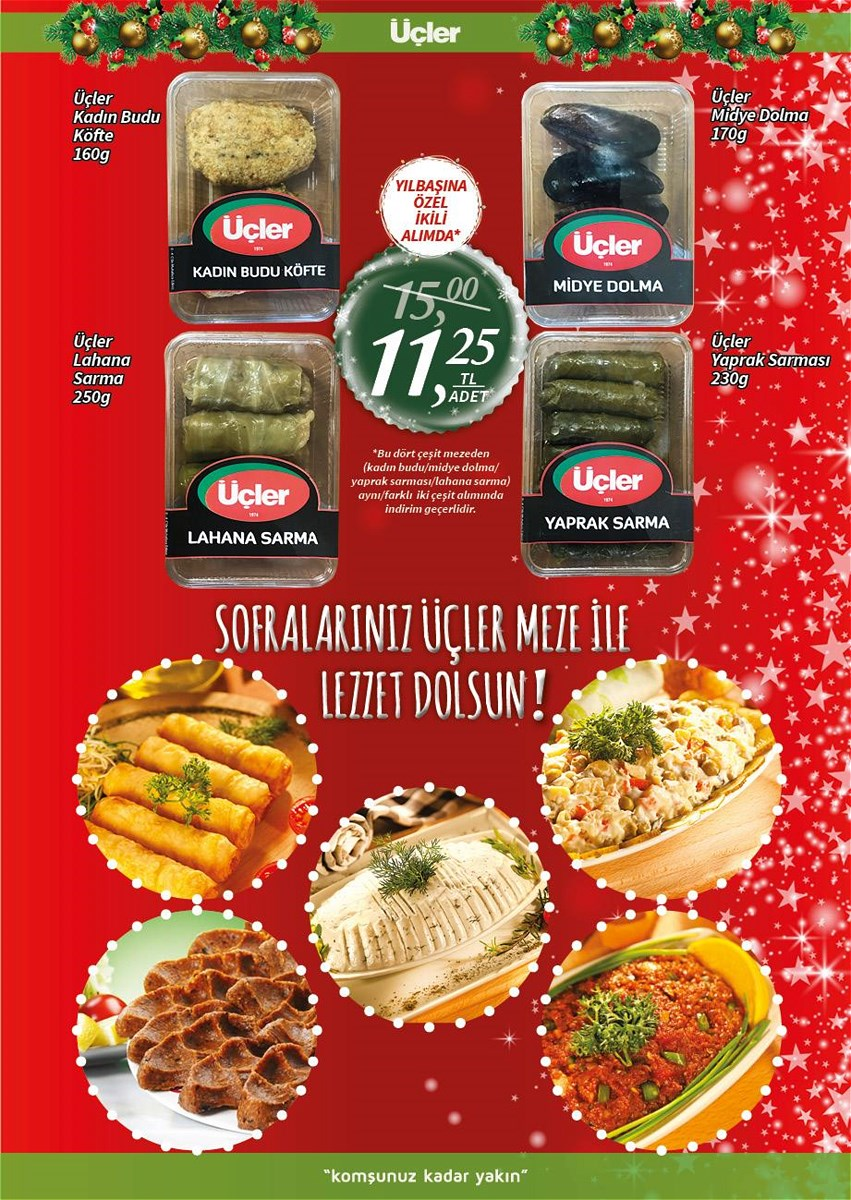 2 - 21 Aralık Üçler Market Aktüel İndirim Broşürü - 2