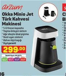 Arzum OK0013 Okka Minio Jet Türk Kahvesi Makinesi