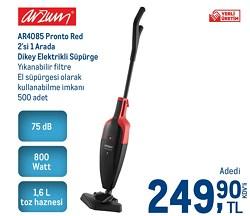 Arzum AR4085 Pronto Red 800 W Dikey Süpürge