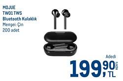 Mojue 3TW01B TW01 TWS Gerçek Kablosuz Kulak İçi Bluetooth Kulaklık