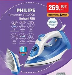 Philips Powerlife Plus GC2990/20 2300 W Buharlı Ütü