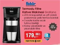 Fakir Gratiana Filtre Kahve Makinesi