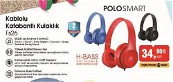 PoloSmart FS26 Kulak Üstü Kulaklık