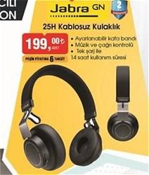 Jabra Elite 25H Kablosuz Kulak Üstü Bluetooth Kulaklık