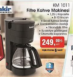 Fakir KM 1011 Filtre Kahve Makinesi