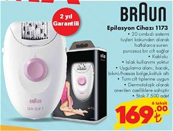 Braun Silk Epil 1 1-173 Epilatör