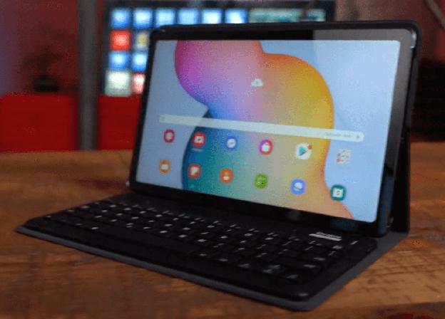 Samsung Galaxy Tab S6 Lite Ekran ve tasarım