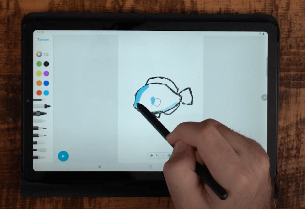 Samsung Galaxy Tab S6 Lite Depolama