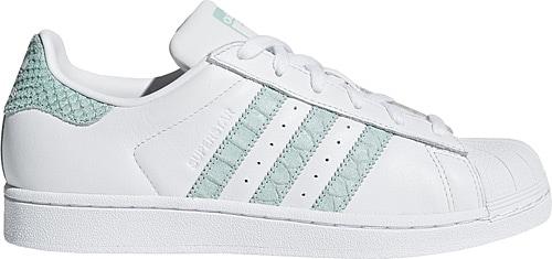the best attitude 9b730 81f4d Adidas Superstar Beyaz-Yeşil Kadın Spor Ayakkabı Ürün Resmi
