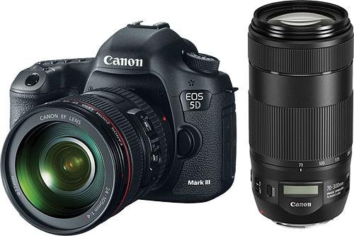 Eos 5d Mark Iii >> Canon Eos 5d Mark Iii 24 105mm 70 300mm Lens Dijital Slr