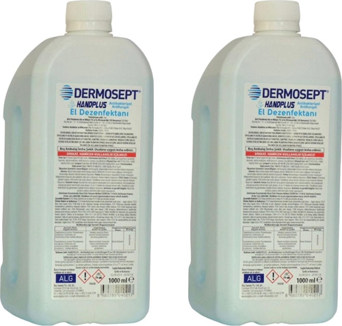 dermosept handplus antibakteriyel 1 lt 2 li el dezenfektani