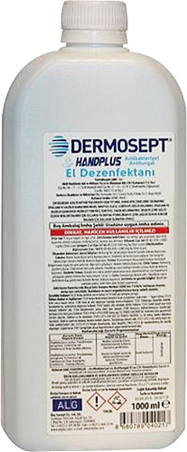 dermosept handplus antibakteriyel 1 lt el dezenfektani