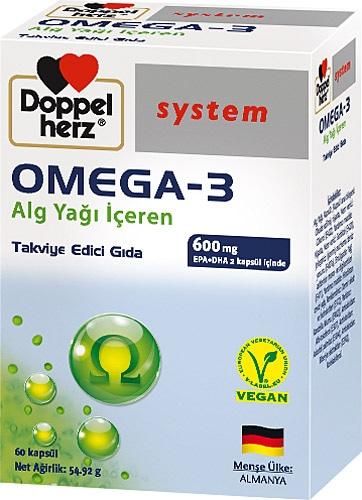 Doppelherz Omega 3 Alg Yağı İçeren 60 Kapsül Fiyatları, Özellikleri ve Yorumları | En Ucuzu Akakçe