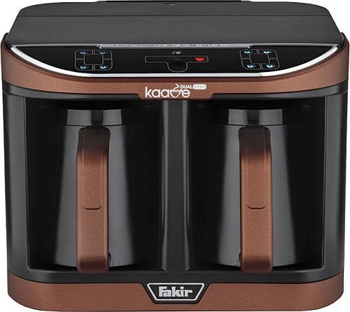 Fakir Kaave Dual Pro Kahverengi İkili Kahve Makinesi ...