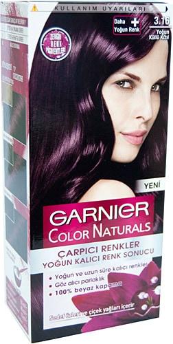 Garnier Color Sensation çarpıcı Renkler 316 Yoğun Küllü Kızıl Saç