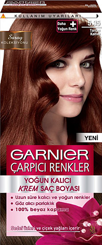 Garnier Color Sensation Carpici Renkler 5 35 Tarcin Kahve Sac
