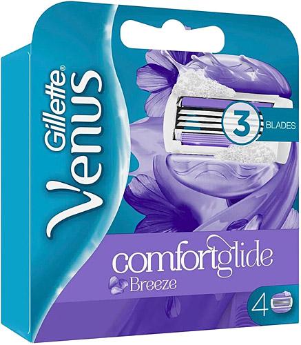 Gillette Venus Comfortglide Breeze 4 Lu Yedek Tiras Bicagi Fiyatlari Ozellikleri Ve Yorumlari En Ucuzu Akakce