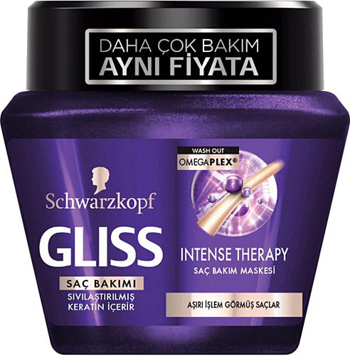 Gliss Fiber Theraphy 300 Ml Sac Bakim Maskesi Fiyatlari