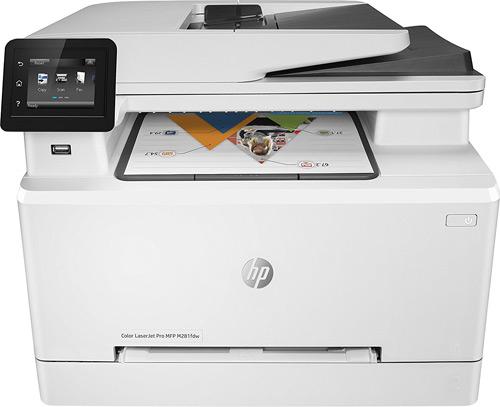 HP MFP M281FDW Wi-Fi + Tarayıcı + Fotokopi + Faks Renkli Çok Fonksiyonlu  Lazer Yazıcı