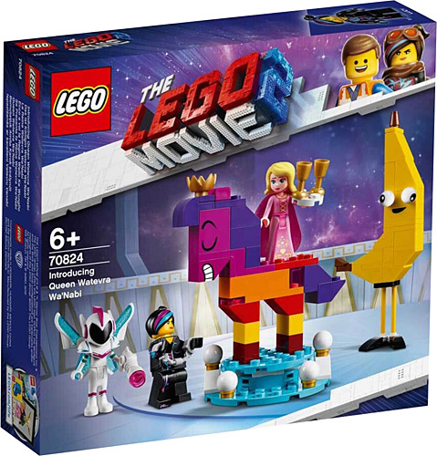 70824 Lego The LEGO Movie 2 Introducing Queen Watevra Wa/'Nabi for sale online