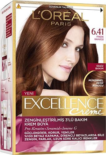 Loreal Excellence Creme 6 41 Findik Kahvesi Sac Boyasi Fiyatlari