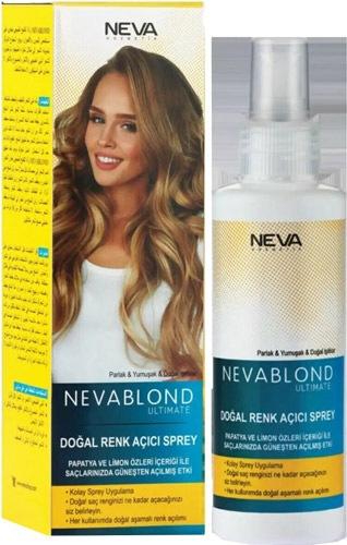 Neva Blond Ultimate Dogal 150 Ml Renk Acici Sprey Fiyatlari