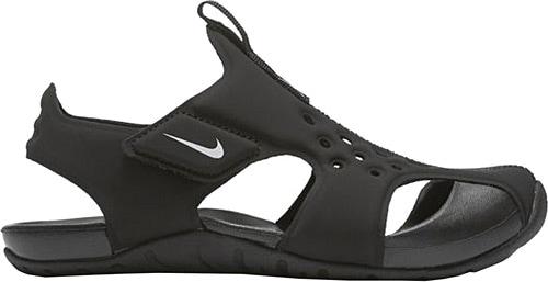 68ef0356668f95 ucuz Nike Sunray Protect 2 (ps) 943826-001 Siyah Çocuk Terlik ve Sandalet  Ürün