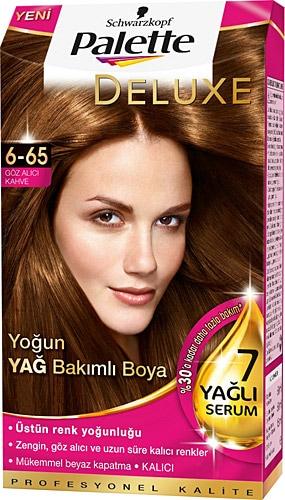 Palette Deluxe 6 65 Goz Alici Kahve Sac Boyasi Fiyatlari