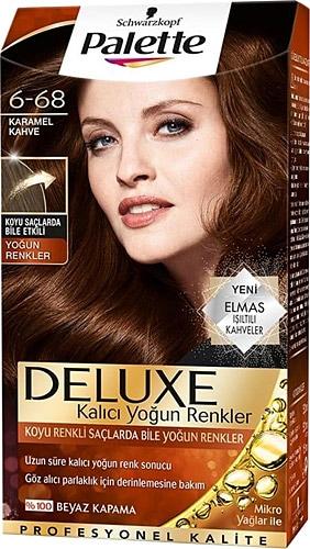 Palette Deluxe 6 68 Karamel Kahve Sac Boyasi Fiyatlari