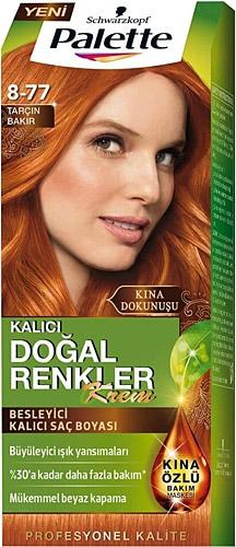 Palette Dogal Renkler 8 77 Tarcin Bakir Sac Boyasi Fiyatlari