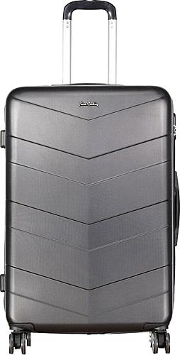 4c9d544519358 Pierre Cardin Unisex Sert 70 cm Büyük Boy Siyah Valiz Fiyatları ...