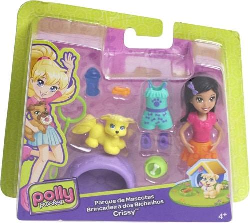 Polly Pocket Bebeği ve Hayvan Arkadaşı