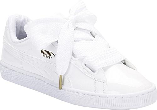 239772c33d902 Puma Basket Heart Patent Kadın Spor Ayakkabı Ürün Resmi