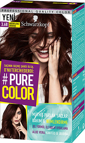 Pure Color 3 68 Bogurtlenli Brownie Sac Boyasi Fiyatlari