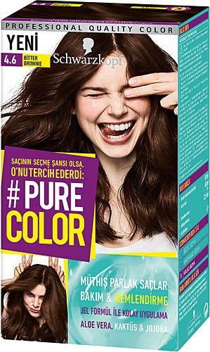 Pure Color 4 6 Bitter Brownie Sac Boyasi Fiyatlari Ozellikleri Ve