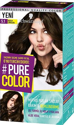 Pure Color 5 1 Buzlu Cikolata Sac Boyasi Fiyatlari Ozellikleri Ve