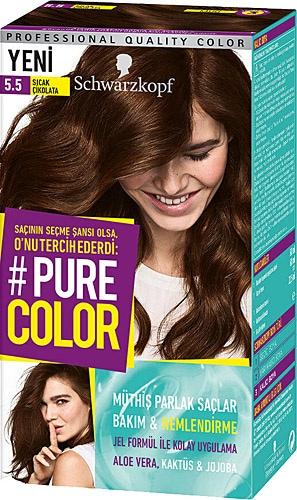Pure Color 5 5 Sicak Cikolata Sac Boyasi Fiyatlari Ozellikleri Ve