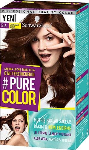 Pure Color 5 6 Cikolatali Sufle Sac Boyasi Fiyatlari Ozellikleri