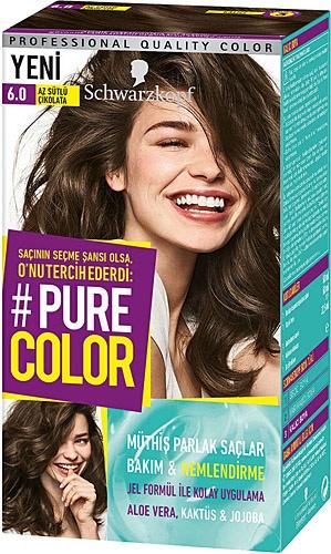 Pure Color 6 0 Az Sutlu Cikolata Sac Boyasi Fiyatlari Ozellikleri