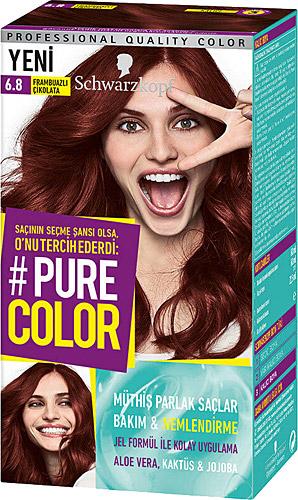 Pure Color 6 8 Frambuazli Cikolata Sac Boyasi Fiyatlari