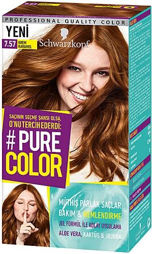 Pure Color 7 57 Krem Karamel Sac Boyasi Fiyatlari Ozellikleri Ve