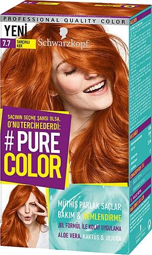 Pure Color 7 7 Tarcinli Kek Sac Boyasi Fiyatlari Ozellikleri Ve